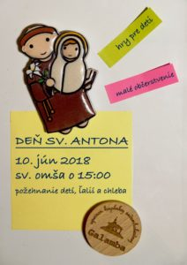 Pozvanka Den sv. Antona